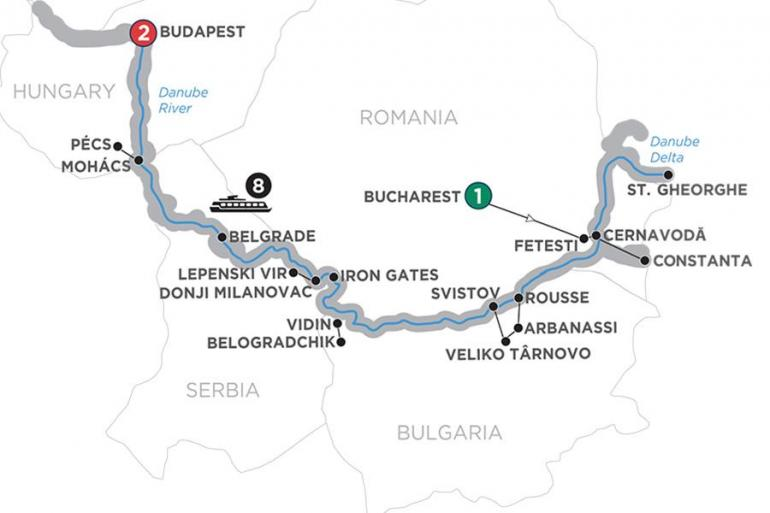 Belgrade Belogradchik The Danube from the Black Sea to Budapest – Westbound Trip