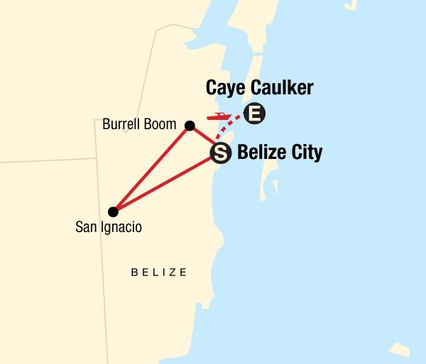 Caye Caulker San Antonio Explore Belize Trip