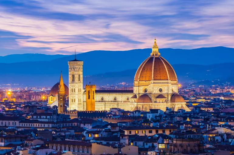 Tuscan & Umbrian Countryside featuring Italy's Charming Hill Towns tour