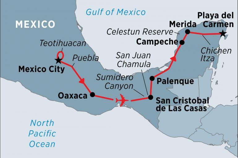 Mexico City Palenque Mexico In Depth Trip