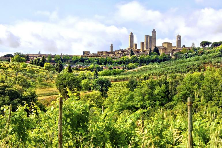 Cultural Culture Chianti Walking & Wine package