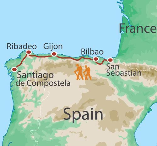 Hiking & Walking Hiking The Full Camino Norte package