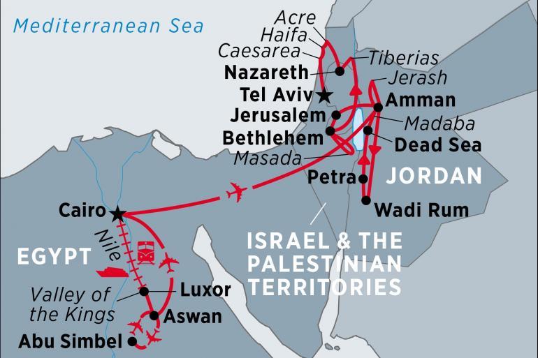 Aswan Bethlehem Discover Egypt, Jordan, Israel & the Palestinian Territories Trip