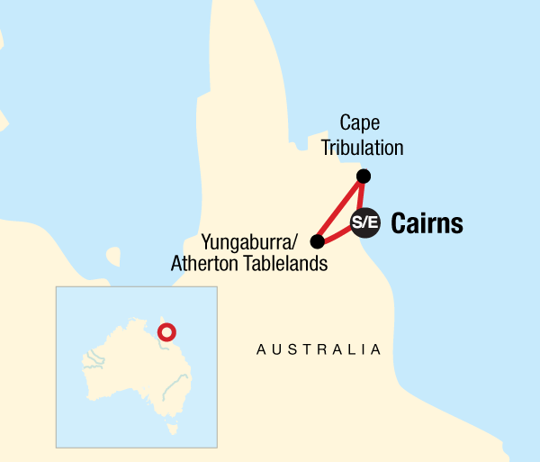 Cairns Daintree Queensland Rainforests & Waterfalls Trip