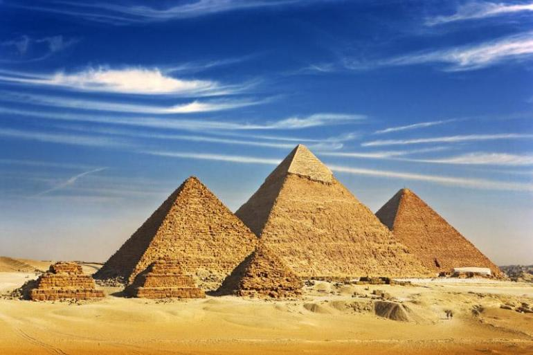 Family Egyptian Sphinx, Pyramids and Nile River tour