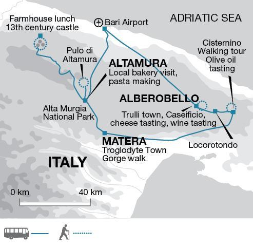 A Taste of Puglia tour