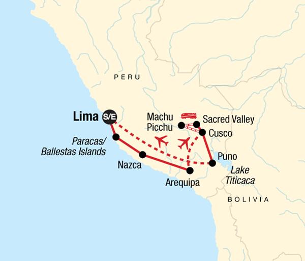 Aguas Calientes Arequipa Inca Explorer Trip