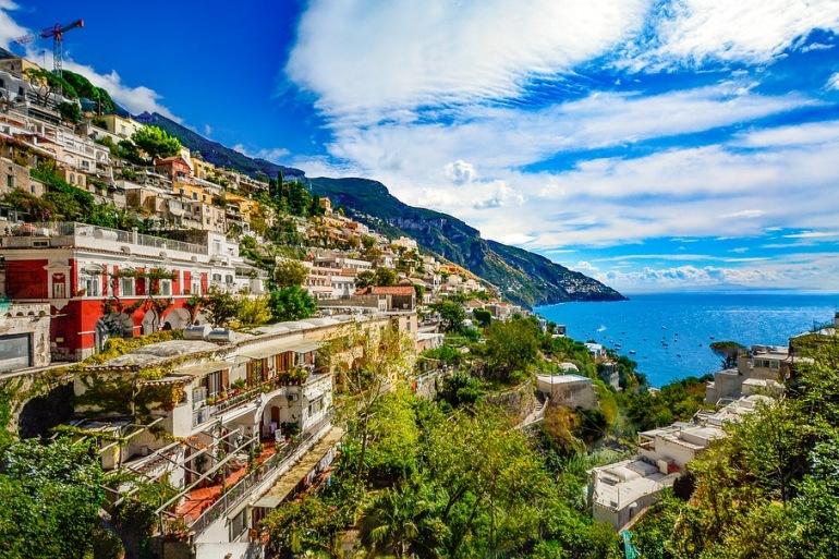 Amalfi Coast-hill side-Italy_2180537_P