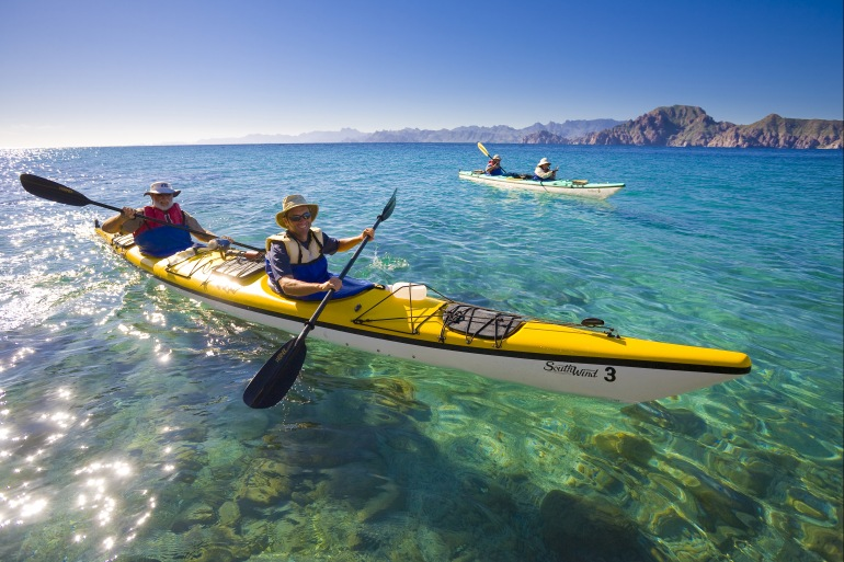 Family Friendly Culture Baja Whale Camp & Kayak package