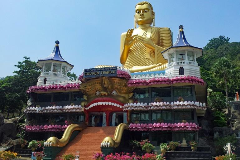 Dambulla Cave Temple View, Sri Lanka