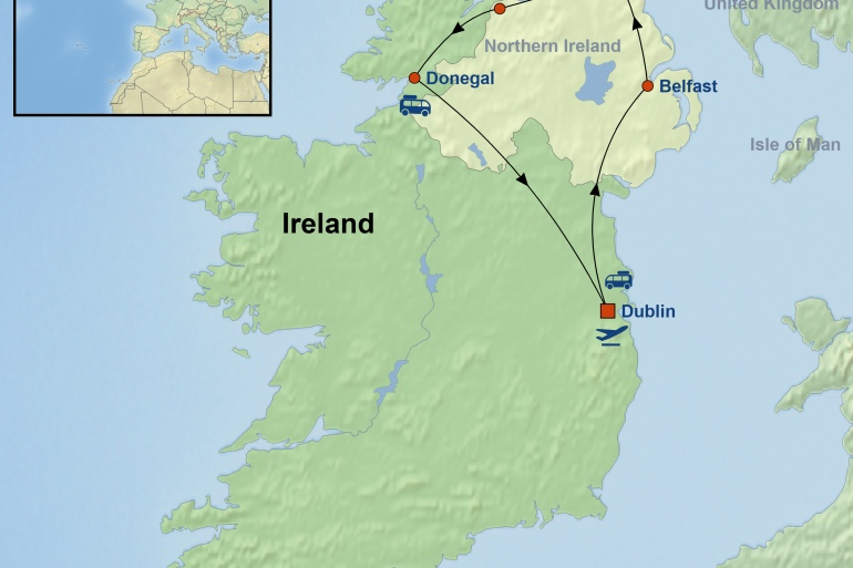 Belfast Derry Game of Thrones in Ireland Trip