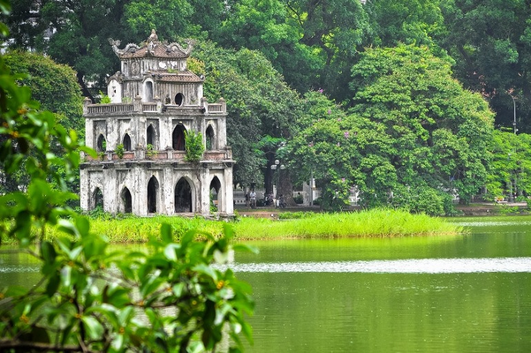 Historic seeing of Hanoi City-Vietnam-p
