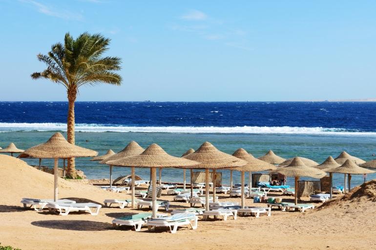 Royal Savoy Hotel private area near beach, Egypt