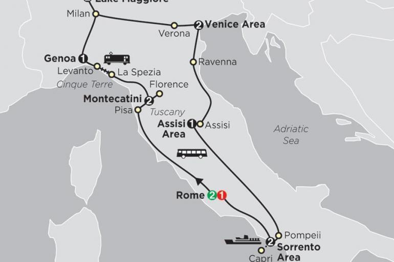 Assisi Cinque Terre Italy's Best Trip