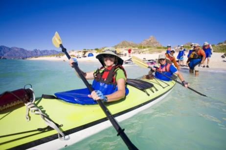 Kayaking in Baja: Loreto tour