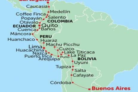 Colourful South America tour
