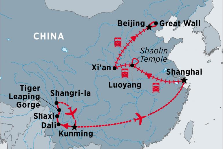 Kunming Shanghai China in Depth Trip