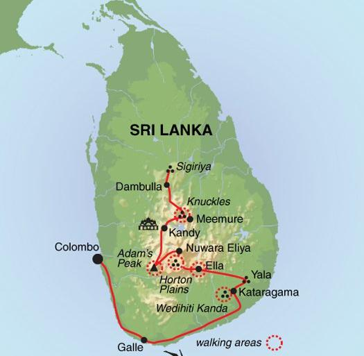 National Parks Wildlife viewing Highlands of Sri Lanka package