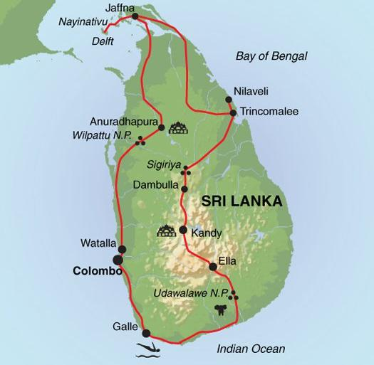 Nature & Wildlife History North Sri Lanka Revealed package