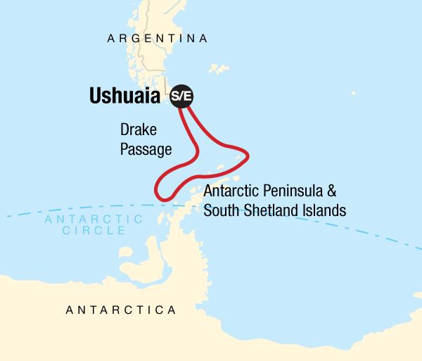 Antarctic Peninsula Shetland Islands Antarctica Classic Trip