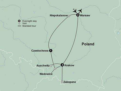 Cultural Culture Pilgrimage to Poland package
