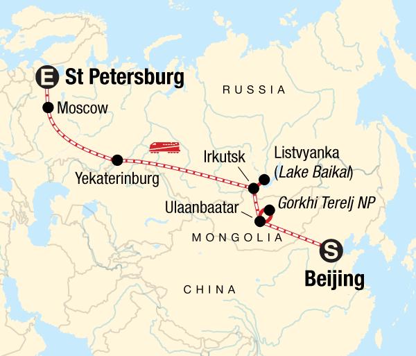 Beijing Gandan Monastery Trans-Mongolian Express Trip