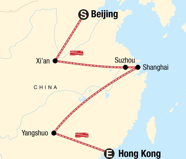 Beijing Guilin Beijing to Hong Kong on a Shoestring Trip