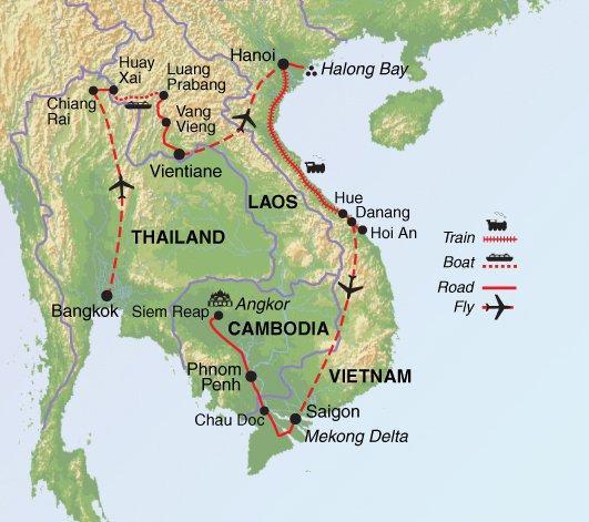 Hanoi Hoi An  Thai Indochina Grand Tour Trip