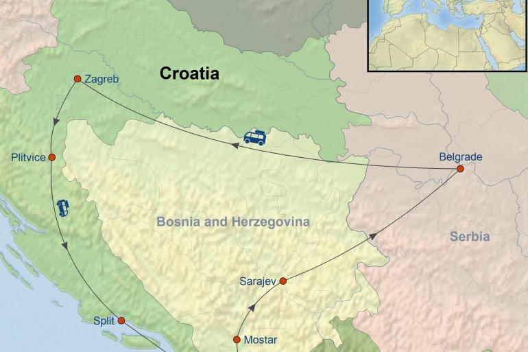 Belgrade Dubrovnik The Balkan Journey Trip
