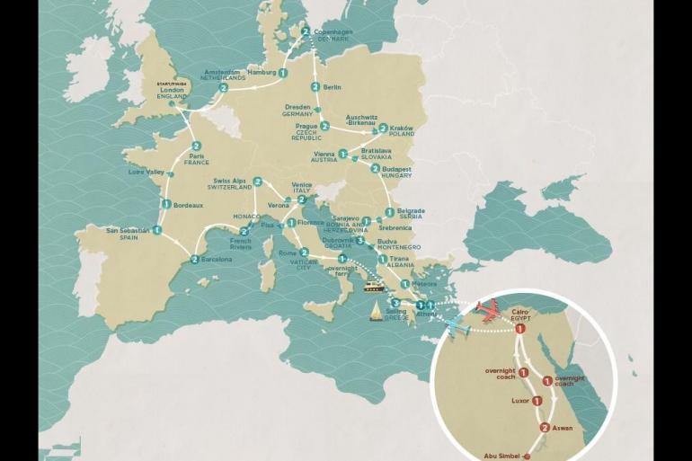 Abu Simbel Alexandria Mega European Egypt Trip