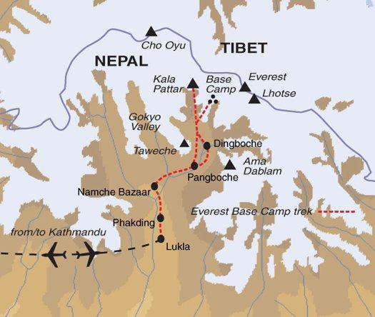Nature & Wildlife Hiking Everest Base Camp Trek - Expedition Departures package