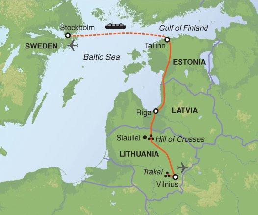 Tallinn Vilnius Stockholm & The Baltics in Winter Trip