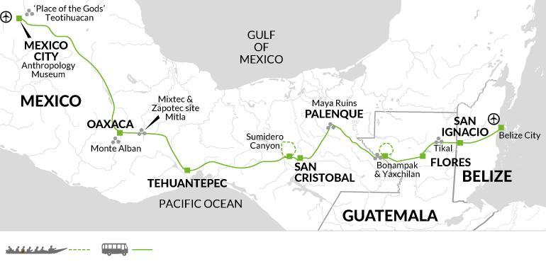 San Cristobal San Ignacio Contrasts of Mexico Trip