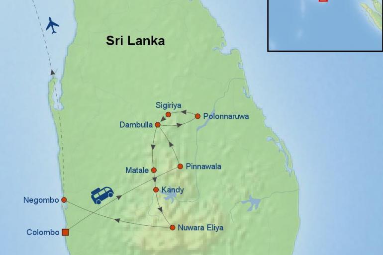 Colombo Dubai Treasures of Sri Lanka And Dubai Trip