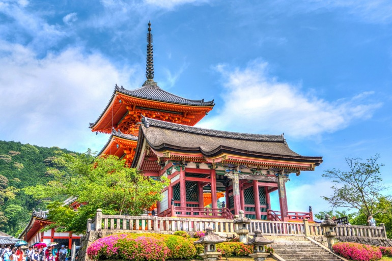 Sensō-ji temple kyoto-Japan-1437734-P