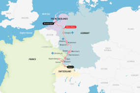 Castles along The Rhine tour