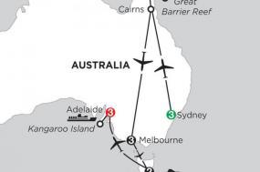 Australian Explorer with Hobart & Adelaide tour