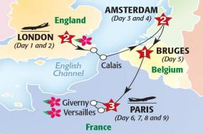 European Affair with Chelsea Flower Show (Summer 2018) tour