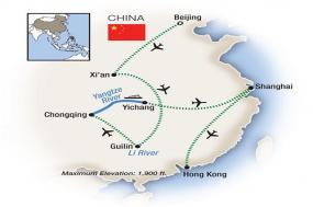 China, the Yangtze River & Hong Kong 2018 tour