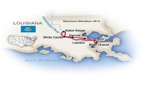 New Orleans & Mississippi River Plantation Country 2018 tour