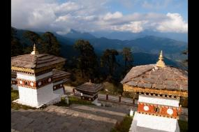 Cycling in Bhutan tour