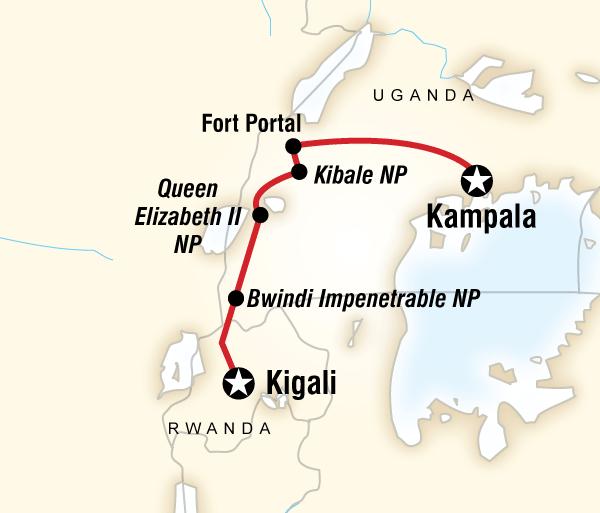 Entebbe Kampala Culture & Wildlife of Uganda & Rwanda Trip