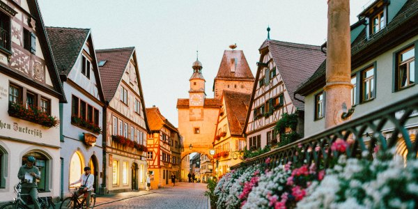 Small European village