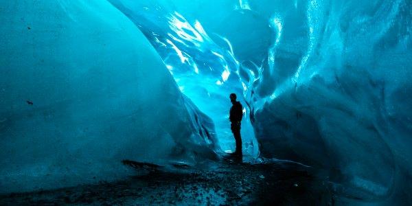 Iceland travel ice caves
