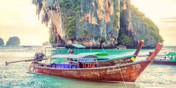 Thailand longboat G Adventures tour