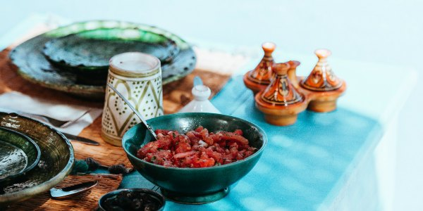 Private meal in Morocco tours and holidays